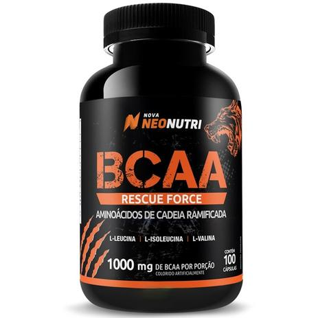 Imagem de Bcaa Rescue Force 100 cápsulas - Neonutri