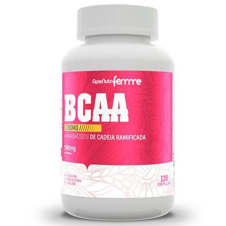 0fa302c64 Bcca com cromo apisnutri femme 580mg 120 cápsulas - BCAA - Magazine ...