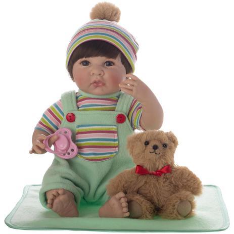 0934d25ca2 Bebe Reborn Laura Baby Alana - Laura doll - Bonecas - Magazine Luiza