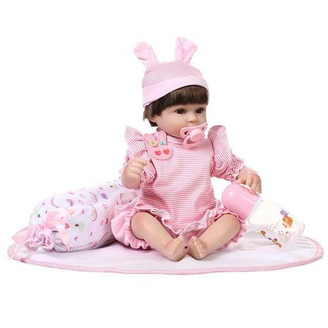 f9cfbf756 Bebe Reborn Laura Baby Nanda - Laura doll - Bonecas - Magazine Luiza