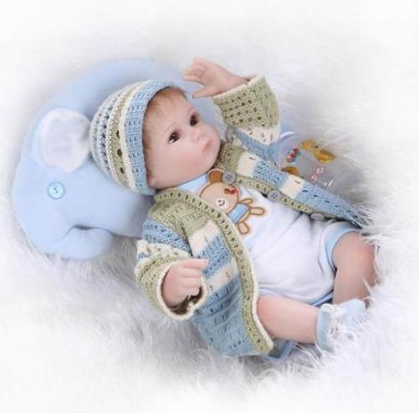 01650dde8 Bebê Reborn Menino Silicone Pronta Entrega - Boneca Reborn ...