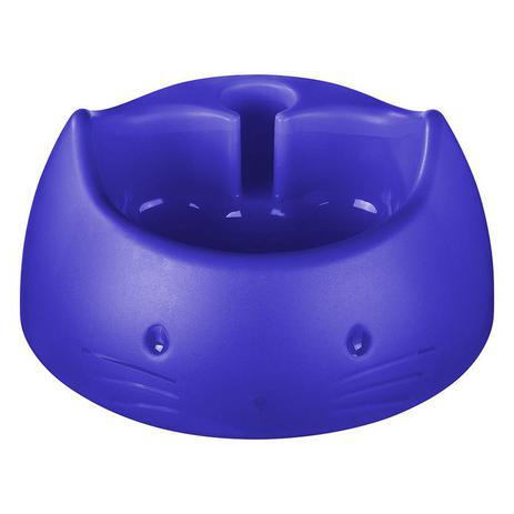 Imagem de Bebedouro automático gato plástico azul Cód. 5656