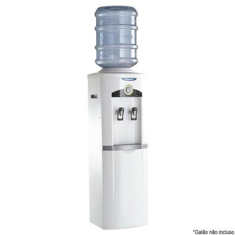 Imagem de Bebedouro de Água de Coluna Esmaltec Gelagua EGC35B com Compressor Branco