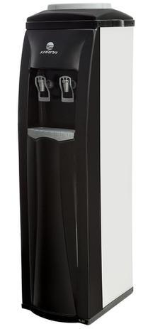 Imagem de Bebedouro de galão  laterais em Inox   refrigerado coluna K 30i  linha diamante com motor compressor