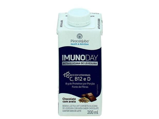 Imagem de Bebida Láctea Piracanjuba Imunoday Chocolate com Aveia 200ml