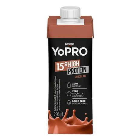 Imagem de Bebida Láctea YoPro Protein Chocolate 250ml
