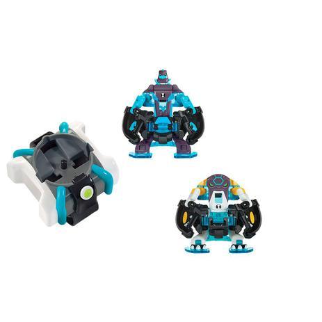 Ben 10 Lancador Omnitrix Com 2 Figuras Diamante E Bola De Canhao