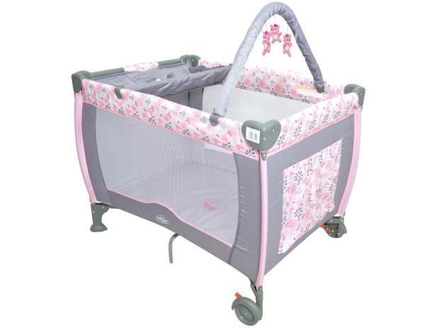 Imagem de Berço Baby Style Plus Flores Desmontável