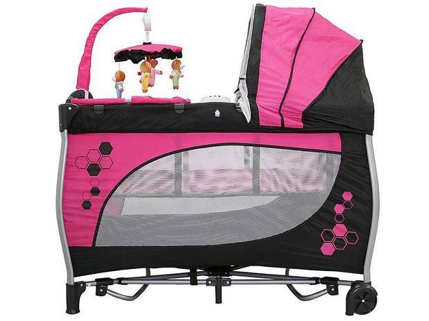 Imagem de Berço Desmontável Baby Style Balanço com Rodízios