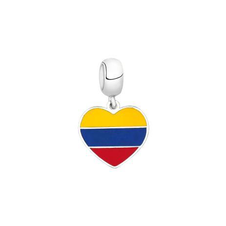 Berloque Bandeira da Colômbia de Prata Moments - Joia em casa ... 80d15d9e5f95b
