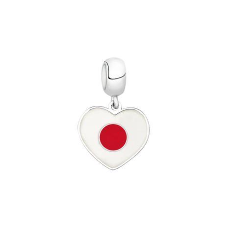Berloque Bandeira do Japão de Prata Moments - Joia em casa ... d34b36f7f5ef5