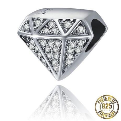 Imagem de Berloque Diamante de Prata