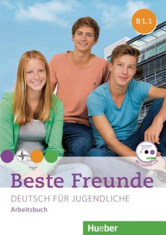 Imagem de Beste freunde b1.1 arbeitsbuch mit audio-cd - Hueber verlag