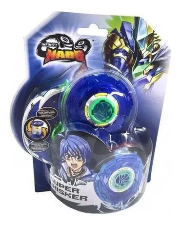Imagem de Beyblade Infinity Nado Com Lançador Splitting Super Whisker