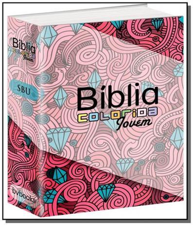 Imagem de Biblia colorida jovem capa feminina - bvbooks - Bv films