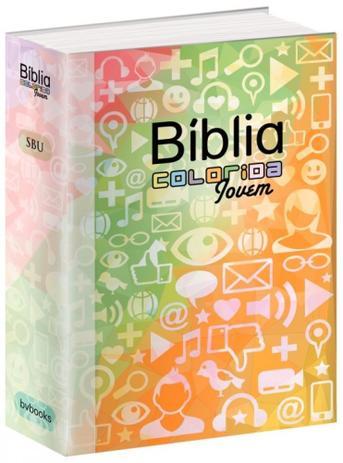 Imagem de Biblia Colorida Jovem Capa Redes Sociais - Bvbooks