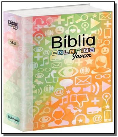Imagem de Biblia colorida jovem capa redes sociais - bvbooks - Bv films