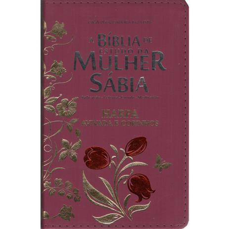 Imagem de Bíblia de Estudo da Mulher Sábia - Bordô