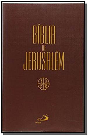 Imagem de Biblia de jerusalem - media capa cristal
