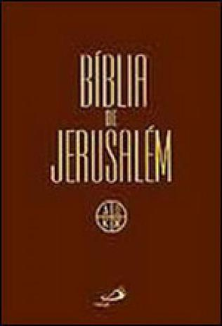 Imagem de Biblia de jerusalem - media - encadernada - Paulus