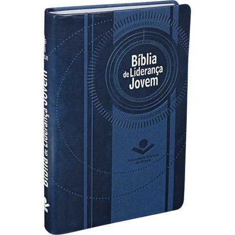 Imagem de Bíblia de Liderança Jovem - Azul - Sociedade bíblica do brasil