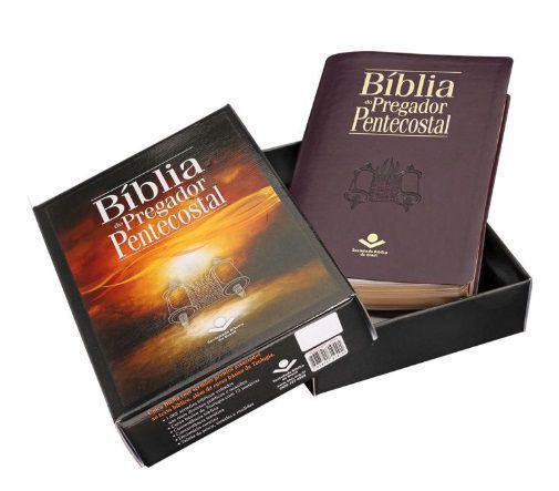 Imagem de Bíblia do Pregador Pentecostal - Vinho