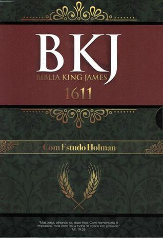 Imagem de Biblia king james 1611 - com estudo holman - preta - Bv Films Biblia
