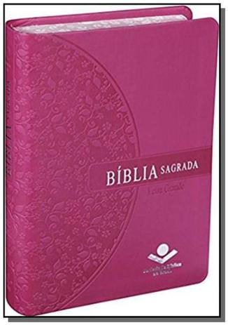 Imagem de Biblia sagrada com letra grande
