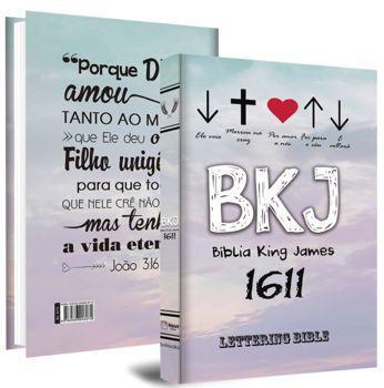 Imagem de BIBLIA SAGRADA KING JAMES 1611 Ultrafina Lettering Bible