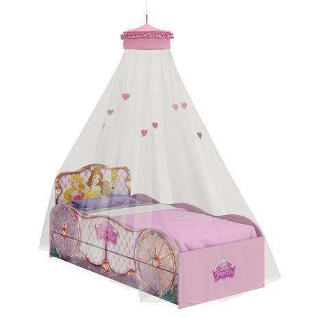 022d7bb6d4 Bicama Infantil Princesas Disney Fun e Dossel de Teto Pura Magia ...
