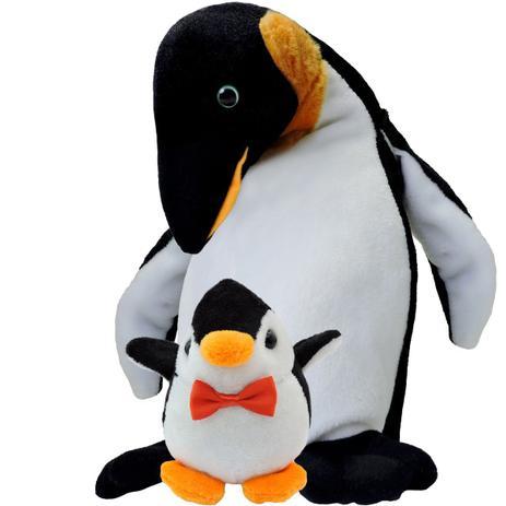Imagem de Bicho de Pelúcia Pinguim Importada