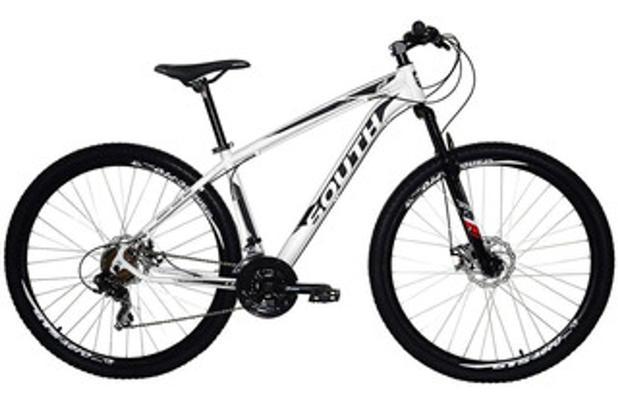 Imagem de Bicicleta 29 21m branco t19 f disco legend imp south