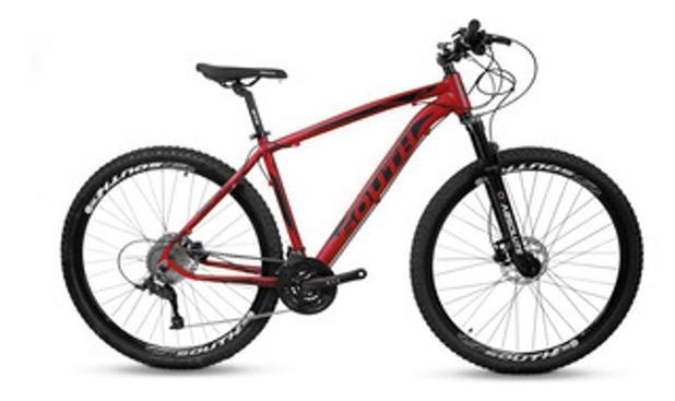 Imagem de Bicicleta 29 21m vermelho fosco t19 f disco legend imp south