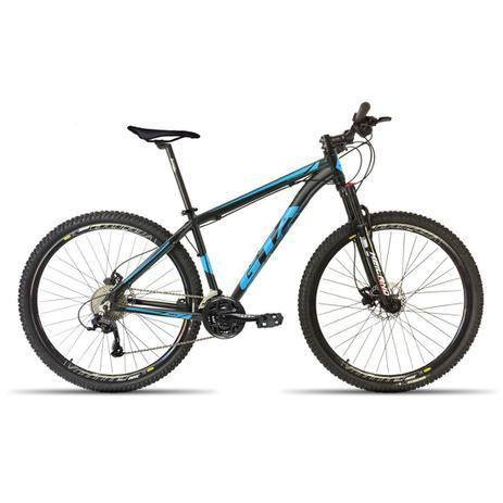Imagem de Bicicleta 29 GTA NX11 24V Freio Hid. Susp. com Trava Preto com Azul 17
