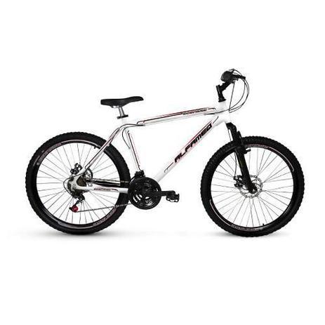 Imagem de Bicicleta Alfameq Ecensse Aro 26 Freio À Disco 21 Marchas Branca