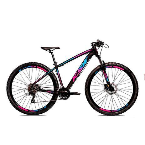 Imagem de Bicicleta Alumínio Aro 29 Ksw 24 Velocidades Freio  Hidráulico KRW17