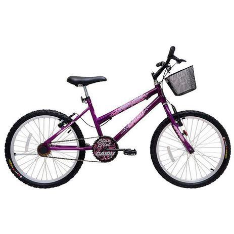 Imagem de Bicicleta aro 20 mtb star girl 310154 cairu / roxa