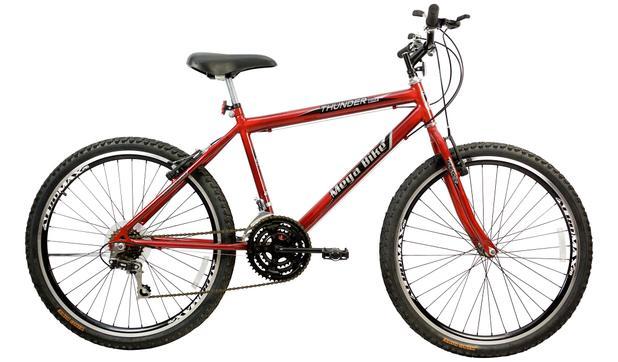 Imagem de Bicicleta Aro 26 Masculino 21M Sport Aero Gold Vermelho