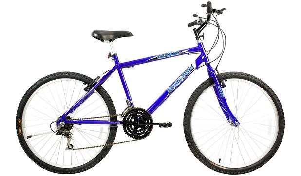 Imagem de Bicicleta Aro 26 Thunder 21 M Sport Azul