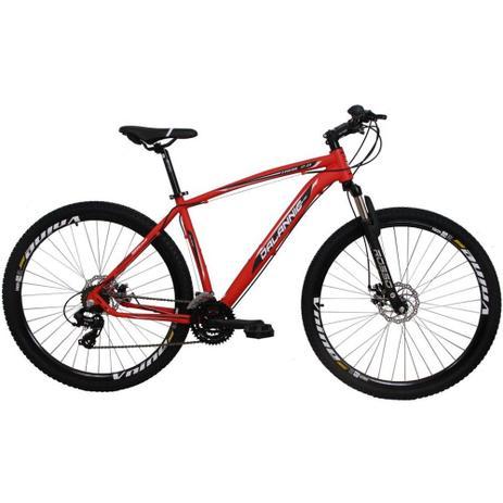 41d8d581a Bicicleta Aro 29 Alumínio 21V Duplo Freio a Disco Trail Vermelha - Dalannio  bike