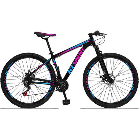 Imagem de Bicicleta Aro 29 GT SPRINT MX1 Quadro Alumínio 21v Freio Disco Mecânico