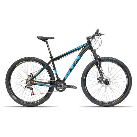 Imagem de Bicicleta Aro 29 GTA NX11 21V Relação Shimano Preto com Azul 17