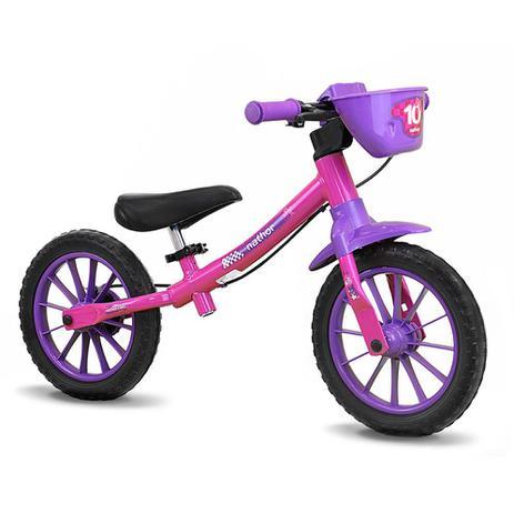 Imagem de Bicicleta Balance Bike sem Pedal Feminina - Nathor