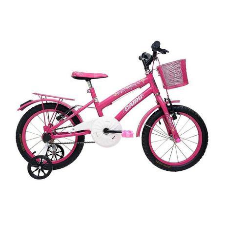 Imagem de Bicicleta Cairu 16 Fem Flowers Rosa/pink C/garupa