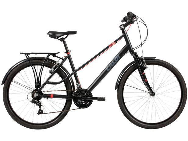 Bicicleta Caloi Urbam Aro 26 21 Marchas - Suspensão Dianteira Câmbio  Shimano Quadro Alumínio 4ae952d1174
