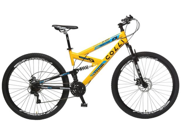 d3d254be4 Bicicleta Colli Bike Extreme Pro Aro 29 - 21 Marchas Dupla Suspensão Câmbio  Shimano