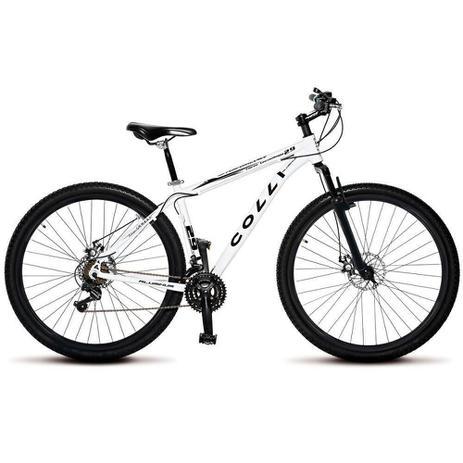 Imagem de Bicicleta Colli Quadro em Alumínio 21 Marchas Aro 29 Freio a Disco Kit Shimano