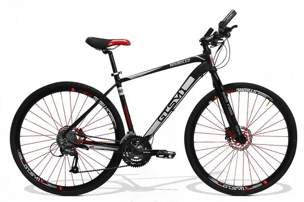 d1ff0a566 Bicicleta de Corrrida GTS M1 Advanced New Aro 29 Freio a Disco 24 Marchas e  Amortecedor - Preto