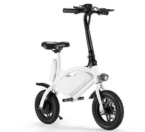 3b0320bf977 Bicicleta Elétrica Roda 12pol. 25 Km h Até 120kg Freio Disco Branca -  Importada