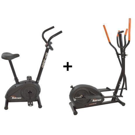 Imagem de Bicicleta Ergométrica Bp-880 e Eliptico Magnético Polimet